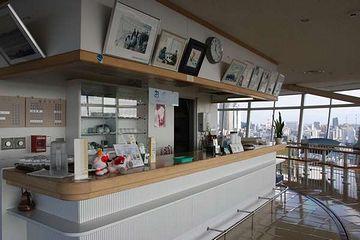 日本海タワー・喫茶スペース
