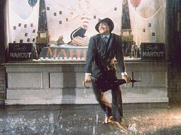 ジーン・ケリーの雨中のダンス