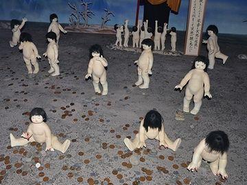 修善寺にある『伊豆極楽苑』の展示