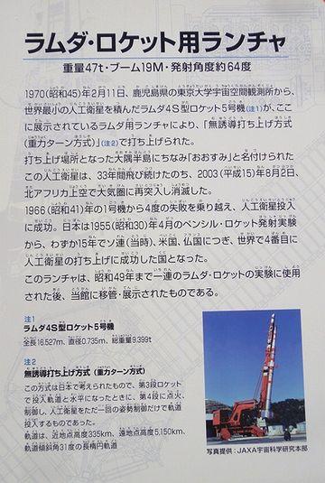 ラムダロケット用ランチャー・説明文