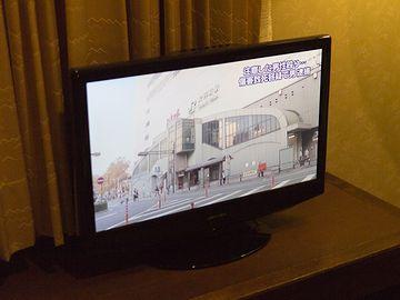 オカズに、テレビの東京ローカルのニュースがあればそれで十分