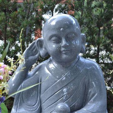 鷲林寺(兵庫県西宮市)におわします『聞き耳地蔵菩薩』
