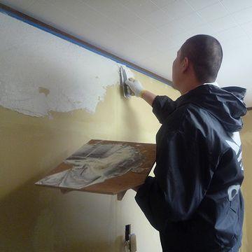 漆喰って、家の壁?