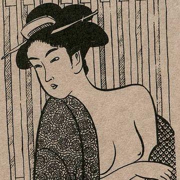 浴衣ってのは、素肌に羽織るもの