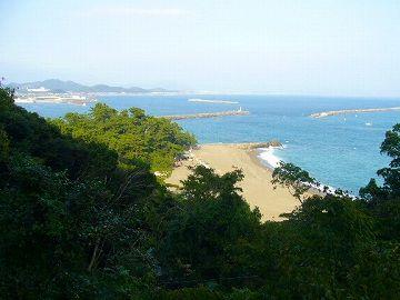 桂浜荘からの眺め