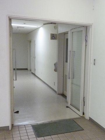 なぜか廊下を撮影