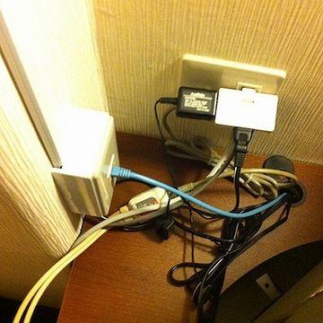 『スーパーホテル安城駅前』の写真。わたしが泊まったホテルでは、こんなに複雑じゃありませんでした