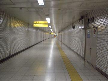 乗り換えに、延々と歩かにゃならん駅もあるってのに……