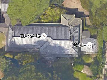 『西川家別邸』にくっつけられて建ってます