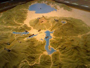 磐梯山模型