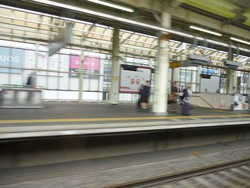 また駅を通過