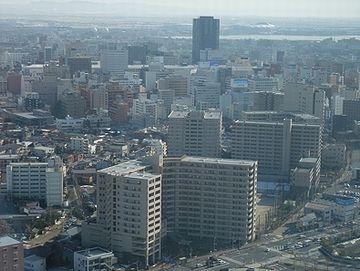 新潟のオフィス街は、新幹線が通ってから、廃れた
