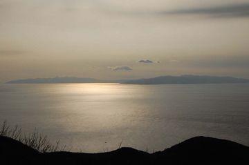 北海道『白神岬』から見た津軽半島。