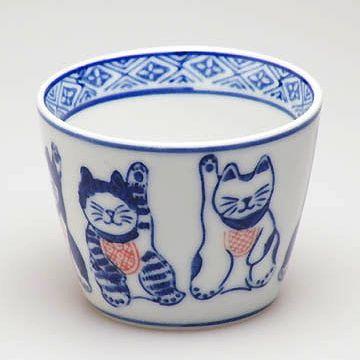 猫の蕎麦猪口