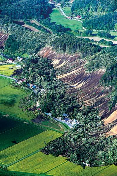 北海道地震震度7厚真町土砂崩れ9.06