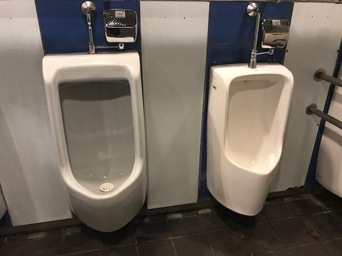 不思議なトイレ