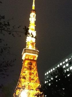4:25東京タワー