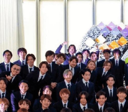 ジャニー喜多川 家族葬 集合写真