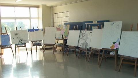 4F美術室横展示1