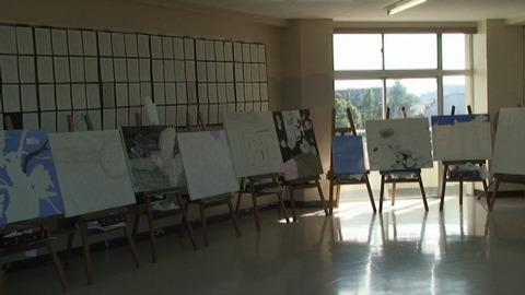 4F美術室横展示2
