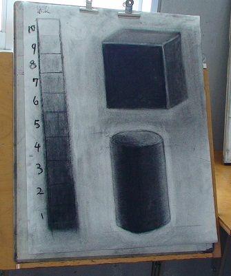 13木炭デッサン1