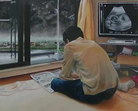 朝霞四中3年石川莉乃「母へ」