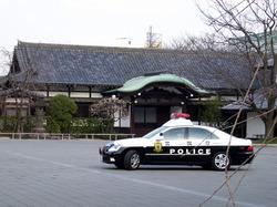 諏訪山吉祥寺と江戸町奉行車