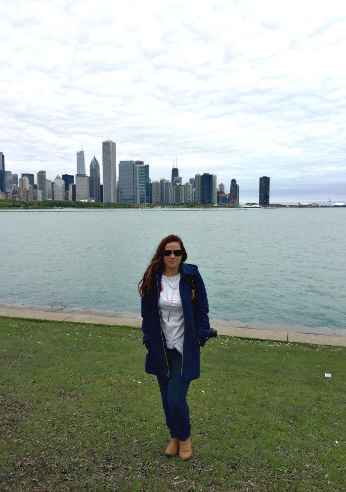 Sarah Fogle - Chicago sky