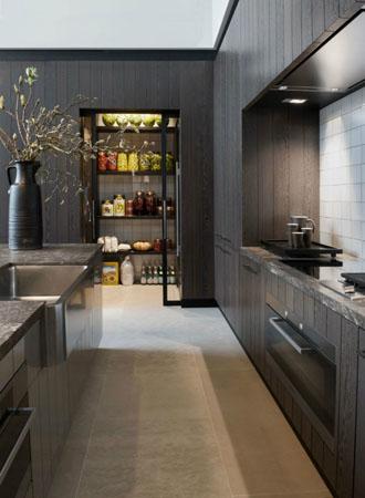 Ý tưởng tủ đựng thức ăn trong tủ bếp