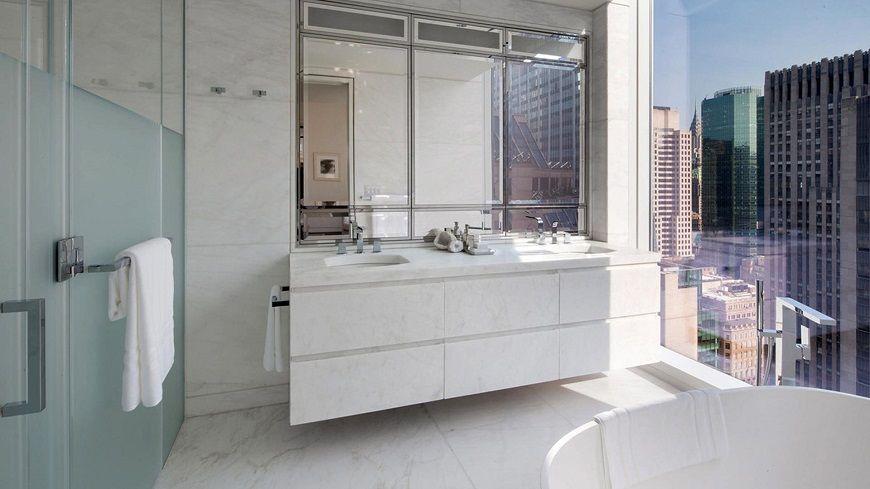 Phòng tắm tuyệt vời của khách sạn Baccarat New York Phòng tắm tuyệt vời của khách sạn Baccarat New York Hãy xem phòng tắm tuyệt vời của khách sạn Baccarat New York Trải nghiệm phòng tắm sang trọng tại khách sạn Baccarat sang trọng New York 2