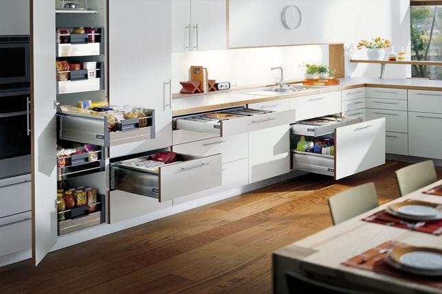 Ý tưởng tủ đựng thức ăn trong bếp