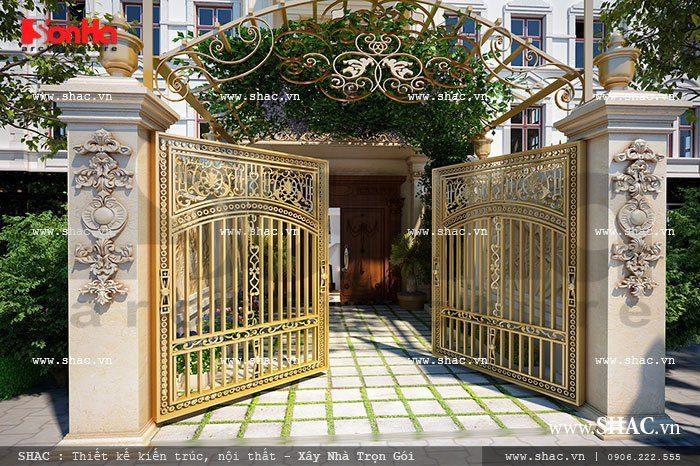 Mẫu thiết kế cổng đẹp 5
