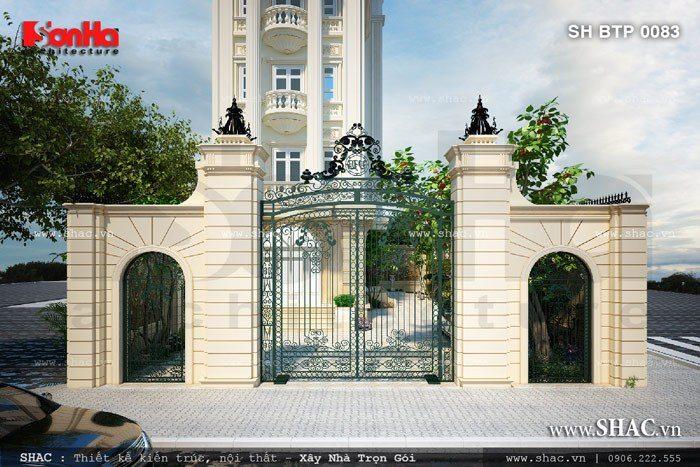Mẫu thiết kế cổng đẹp 3