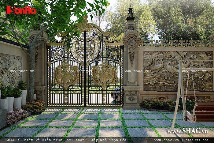 Mẫu thiết kế cổng đẹp 4