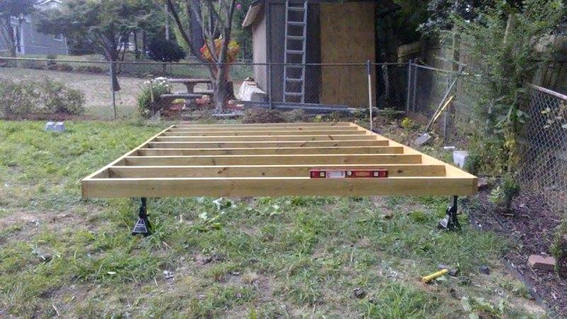 xây dựng và cố gắng san bằng khung dưới cùng