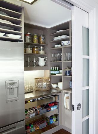 Ý tưởng phòng đựng thức ăn