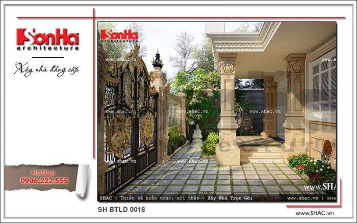 Mẫu thiết kế cổng đẹp 2