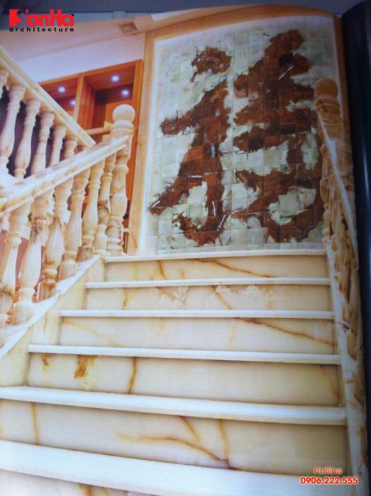 Chọn đúng màu sắc đá phong thủy giúp gia chủ có mẫu cầu thang mãn nhãn