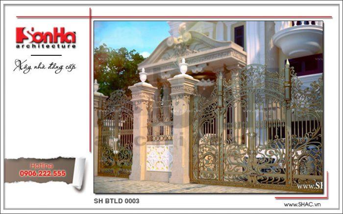 Mẫu thiết kế cổng đẹp 1