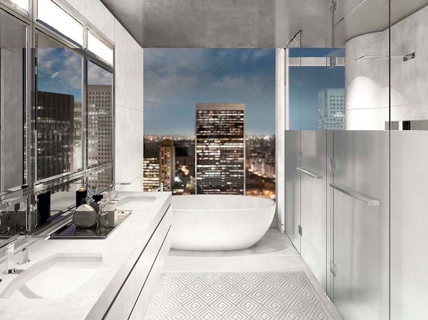 Phòng tắm tuyệt vời của khách sạn Baccarat New York Phòng tắm tuyệt vời của khách sạn Baccarat New York Hãy nhìn vào phòng tắm tuyệt vời của Khách sạn Baccarat New York Trải nghiệm Phòng tắm sang trọng tại Khách sạn sang trọng Baccarat New York 3
