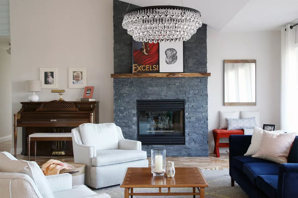 Lò sưởi đá Veneer xếp chồng lên nhau 18 kiểu lò sưởi bằng đá tuyệt đẹp cho mọi phong cách thiết kế nhà có lò sưởi 18 kiểu lò sưởi bằng đá tuyệt đẹp cho mọi phong cách thiết kế nhà có lò sưởi y tuong lo suoi su dung da deo veneer 02