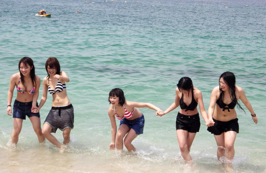 本州で一番はやい「海開き」じゃなくて : いなかもんのにっき(仮)