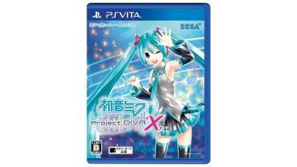 PS Vita「初音ミク Project DIVA X」先行販売