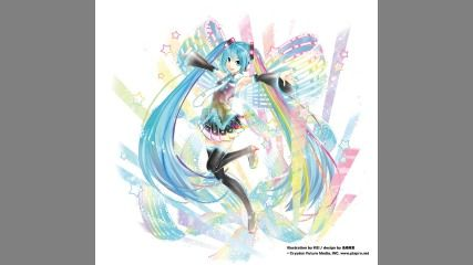 「HATSUNE MIKU 10th Anniversary Album『Re:Start』」発売日