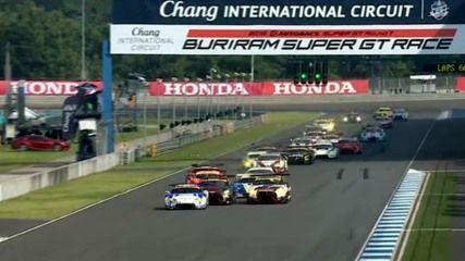 2016スーパーGT第7戦「タイ」決勝結果