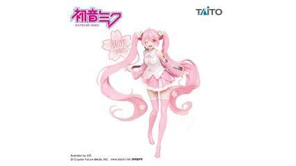 TAITO桜ミクさんフィギュアになぜがセガ限定verが