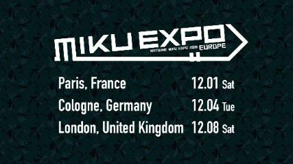 「MIKU EXPO 2018 EUROPE」パリ公演