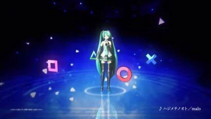 「初音ミク Project DIVA X」ティザーCM