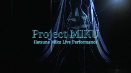 「project MIKU / MUSIC DESIGN LIVE」