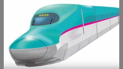 雪ミクさん、北海道新幹線をPR